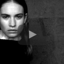 Watch Now: Behind the scenes with Lily James for our Burberry cover shoot