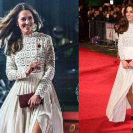 "Spotted: HRH Kate Middleton wears Self-Portrait for ""A Street Cat Named Bob"" premiere"