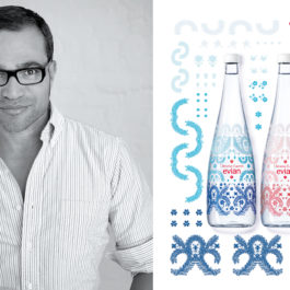 evian® Limited Edition and Christian Lacroix meets again