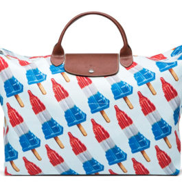 Jeremy Scott for Longchamp: The Empire State Popsicle bag
