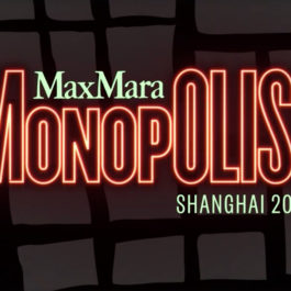 Live Stream: Max Mara Monopolis! Shanghai 2016