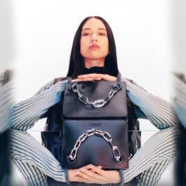 Winter 2016: The Calvin Klein Platinum 'Flared' bag