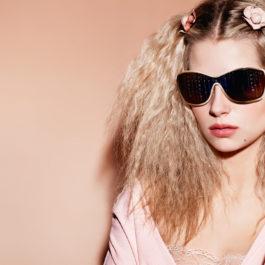 Lottie Moss fronts Chanel's Spring/Summer 2017 eyewear campaign